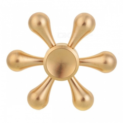 BLCR Tri-Spinner Fidget EDC Hand Spinner for Autism and ADHD - Golden