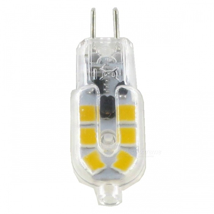 SZFC G4 3W 12V 12-2835SMD LED Warm White 3000K LED Lamp Bulb