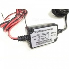 Car Driving Recorder DVR Power Box w/ Low-Voltage Protection + Fuse