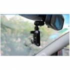 4mm Double Ball Head Rotatable Bracket Holder for Driving Recorder