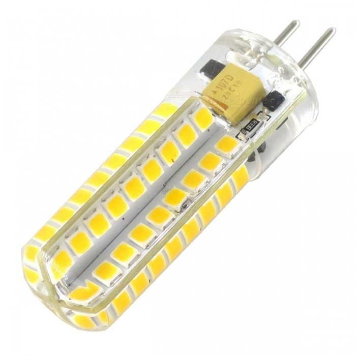 SZFC GY6.35 12V 5W 72-SMD2835 Ampoules LED blanches chaudes (5 PCS)