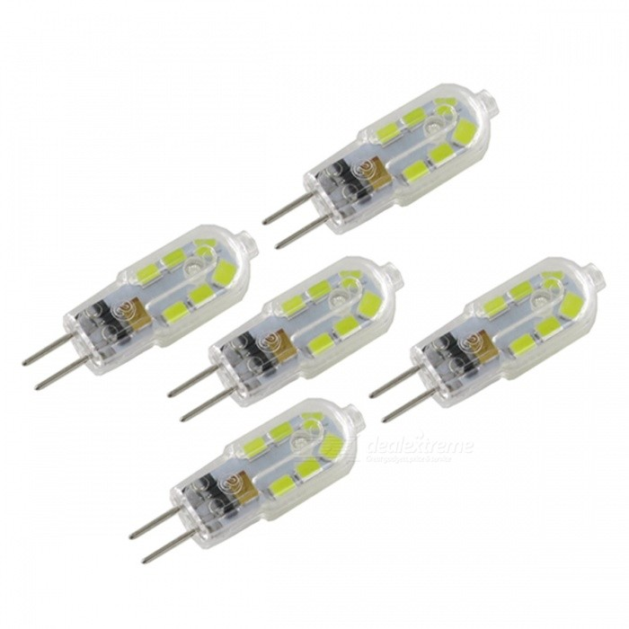 szfc g4 3w 12v 12 smd2835 cold white 6000k led lamp bulbs 5 pcs free shipping dealextreme. Black Bedroom Furniture Sets. Home Design Ideas