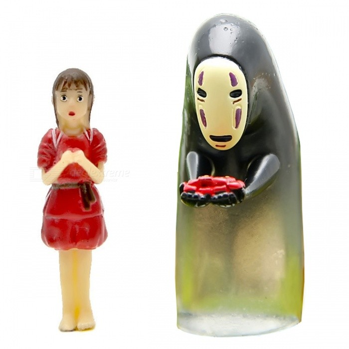 Miyazaki No Men and Thousands of Girls Gardening Scenery Dolls (2Pcs)