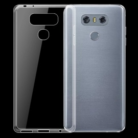 Dayspirit Ultra-Thin TPU Back Cover Case for LG G6 - Transparent