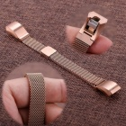Miimall Milanese Loop Watch Band for Fitbit Alta / Alta HR - Rose Gold