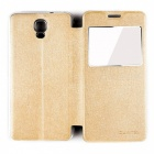 OUKITEL Protective Flip-Open Case for OUKITEL K6000 Plus - Golden