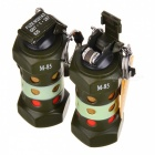 M-85 Multifunction Creative Grenade Style Lighters -Army Green (2PCS)