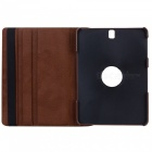 Dayspirit 360° Rotatable PU Case w/ Stand for Samsung T825 - Brown