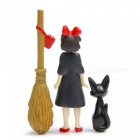 Miyazaki Jun Kiki's Delivery Service Cartoon Gardening Dolls (3pcs)