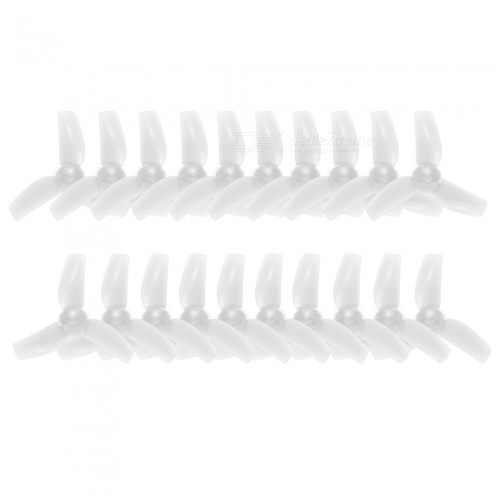 10Pairs 31mm CE / CCW Propellers Sets for GoolRC T36, KINGKONG Tiny 6Other Accessories for R/C Toys<br>Form  ColorWhiteMaterialPlasticQuantity1 DX.PCM.Model.AttributeModel.UnitCompatible Model615 coreless motor / GoolRC T36, KINGKONG Tiny 6, Blade Inductrix and Tiny Whoop, etc.Packing List10 x 31mm CW Propellers10 x 31mm CCW Propellers<br>
