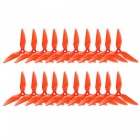 10 Pairs Kingkong 5051 3-Blade CW CCW Propellers for FPV Racer - Red