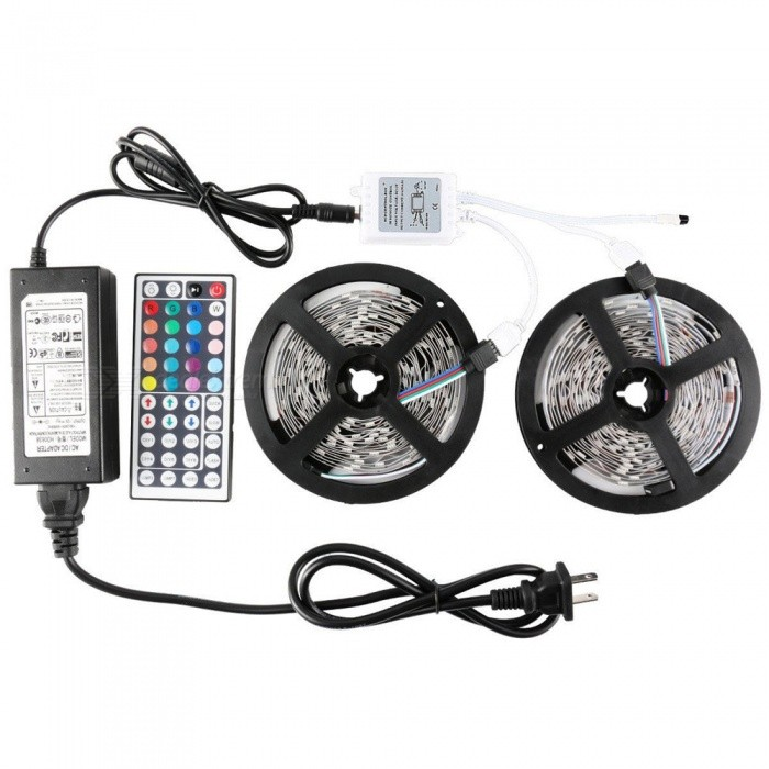 KWB 5050 10m 300-LED IP44 RGB LED Light Strip Kit avec télécommande