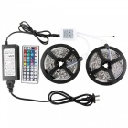KWB 5050 10m 300-LED IP44 RGB LED Light Strip Kit w/ Remote Control