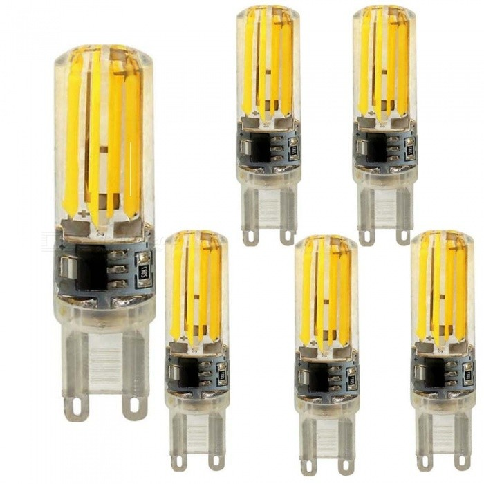 KWB G9 5W COB Warm White Double Side Lighting Silicone Bulbs (6 PCS)