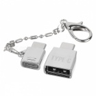 BSTUO Aluminium Alloy Micro USB to Type-c + USB 2.0 to Type-c Adapters