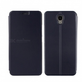 OCUBE PU Leather Flip-open Case for OUkitel K6000 Plus - Deep Blue