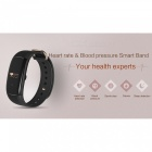 B2 Intelligent Heart Rate Blood Pressure Monitoring Bracelet - Black