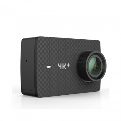Xiaomi YI 4K+ 60fps Intelligent Electronic Sport Action Camera - Black