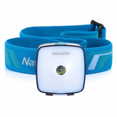 NatureHike Outdoor Multi-function 4-Mode Headlight - White + Blue