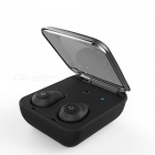 Mini Stereo Wireless Bluetooth V4.1 Invisible Earphone - Black