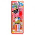 Invisible Ink Secret Message Pens with Revealing UV Light (3*AG3/Color Assorted)