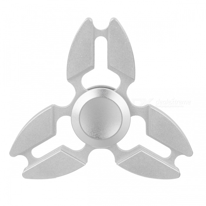 zanhoo Metal Zinc Alloy Tri Fidget Hand Finger Spinner - SilverFinger Toys<br>Form  ColorSilverMaterialZinc alloyQuantity1 DX.PCM.Model.AttributeModel.UnitSuitable Age 8-11 years,12-15 years,Grown upsPacking List1 x Fidget spinner1 x Metal case<br>