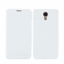 OCUBE PU Leather Flip-open Case for Ulefone Power II - White