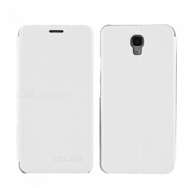 OCUBE PU Leather Flip-open Case for OUkitel K6000 Plus - White