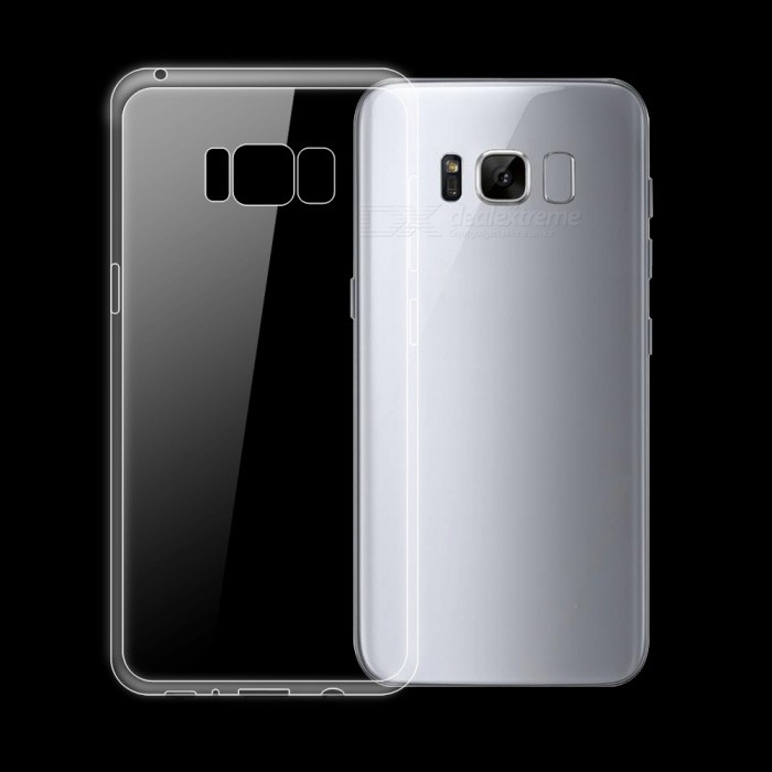 Dayspirit Ultra-thin TPU Back Case for Samsung Galaxy S8 - TransparentTPU Cases<br>Form  ColorTransparentQuantity1 pieceMaterialTPUShade Of ColorTransparentCompatible ModelsSamsung Galaxy S8DesignSolid Color,TransparentStyleBack CasesPacking List1 x Case<br>