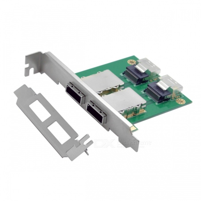 CY SF-035 Dual Ports Mini SAS SFF-8088 to SAS 36Pin PCBA Adapter