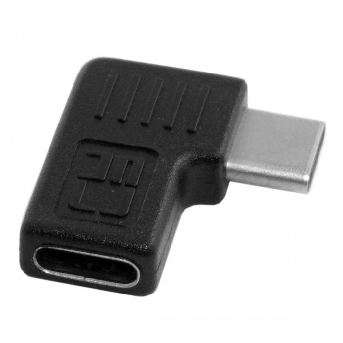 CY U3-214-RI USB 3.1 Typ-C Man till Female Extension Adapter