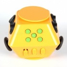 HakkaDeal Stress Relief Magic Square Finger Gyro Toy - Orange