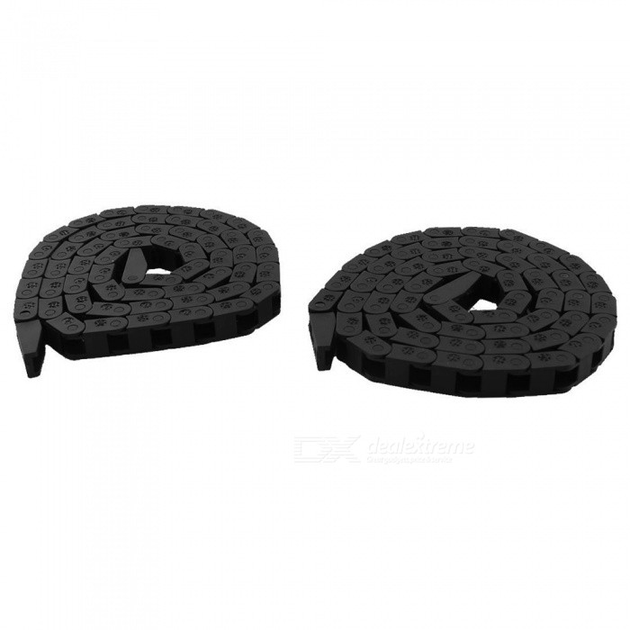 R15 7x7mm 1m Plastic Cable Towline Wire Carriers (2 PCS)