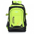 Latest Waterproof Nylon Shoulder Bag Backpack for Camping - Green