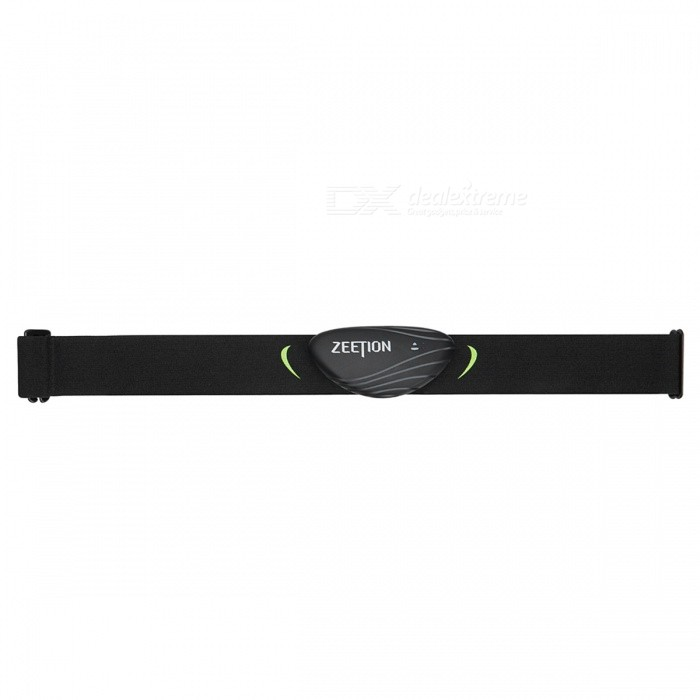 ZEETION H1 Exercise HRV Analysis Heart Rate Monitor Band  - Black