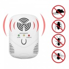 6W Electronic Ultrasonic Mouse Killer Repeller - White (EU Plug)