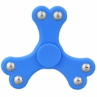 BLCR Tri-Spinner Fidget Toy Hand Spinner for Autism and ADHD - Blue