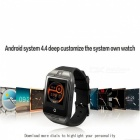 Q18 Plus 3G Android Wi-Fi Bluetooth Smart Watch - Rose Gold
