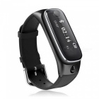 M6 Smart Watch Bracelet w/ Bluetooth Headset for iOS Android - Black
