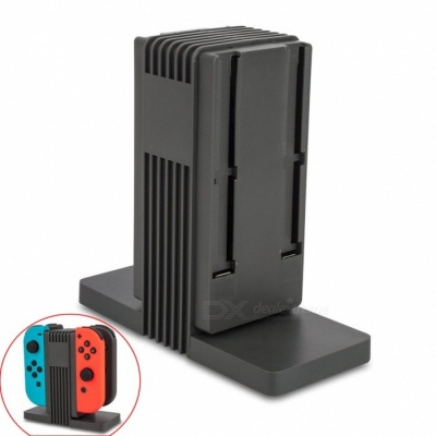 Kitbon Charging Station Dock + Cable for Nintendo Switch Joy-Con