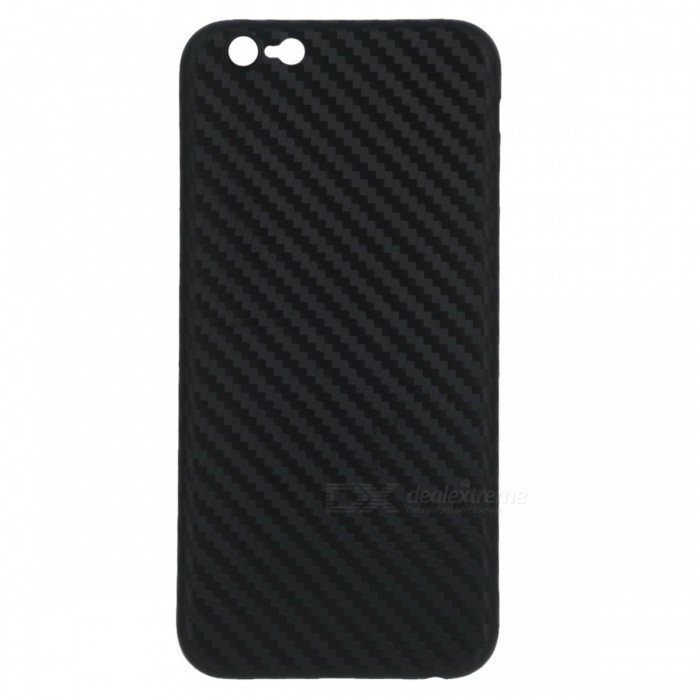 Ultra-thin PP Carbon Fiber Style Case for IPHONE 6 / 6s - Black