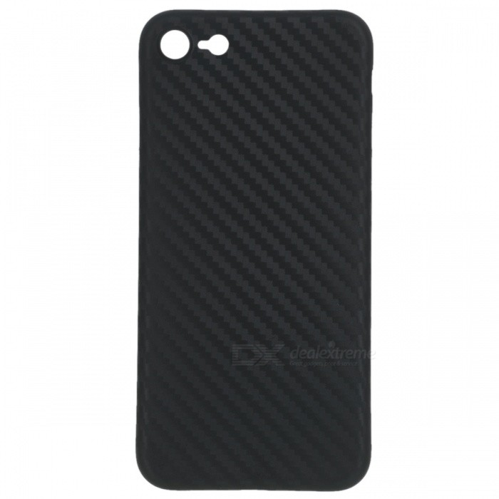 Ultra-tunn PP Carbon Fiber Style Case för IPHONE 7 - Svart