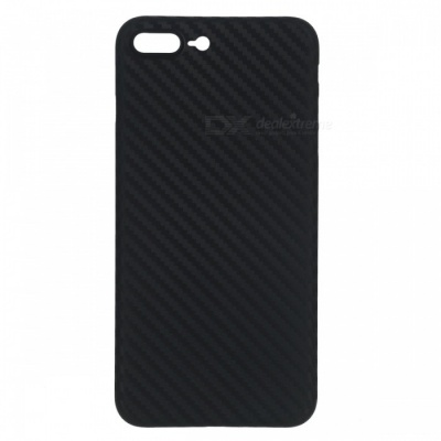 Ultra-thin PP Carbon Fiber Style Case for IPHONE 7 Plus - Black