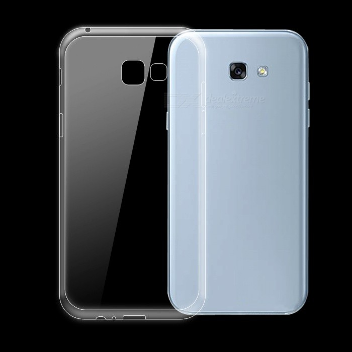 Dayspirit Ultra-thin TPU Back Case for Samsung Galaxy A7 (2017)TPU Cases<br>Form  ColorTransparentQuantity1 DX.PCM.Model.AttributeModel.UnitMaterialTPUShade Of ColorTransparentCompatible ModelsSamsung Galaxy A7(2017)DesignSolid Color,TransparentStyleBack CasesPacking List1 x Case<br>