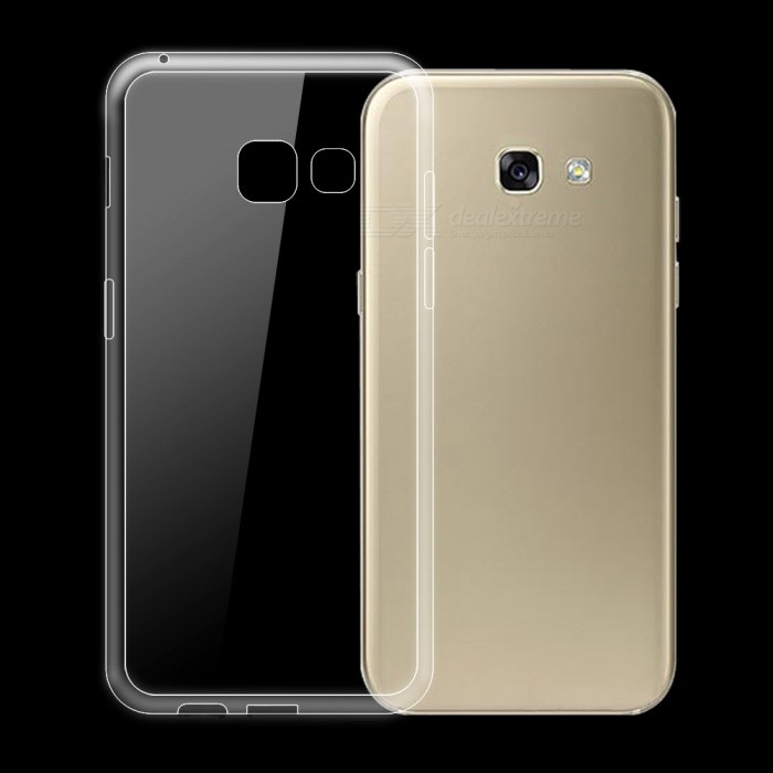 Dayspirit Ultra-thin TPU Back Case for Samsung Galaxy A5 (2017)TPU Cases<br>Form  ColorTransparentQuantity1 DX.PCM.Model.AttributeModel.UnitMaterialTPUShade Of ColorTransparentCompatible ModelsSamsung Galaxy A5(2017)DesignSolid Color,TransparentStyleBack CasesPacking List1 x Case<br>