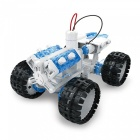 DIY Space Vehicle Self-Assembled Building Block Brine Power Robot Toys