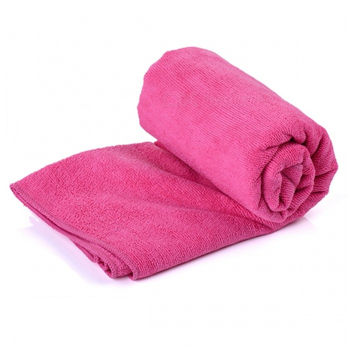 Naturehike Anti-Bacterial Quick Dry Travel Bath Towel - Deep Red