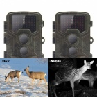 Caméra de jeu infrarouge 1080P 16MP Game and Trail pour chasse au cerf