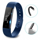 ID115 Touch Screen Fitness Tracker Watch Smart Bracelet - Blue