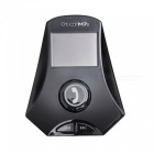 Transmetteur FM Kelima Bluetooth w / Blue Light - Noir